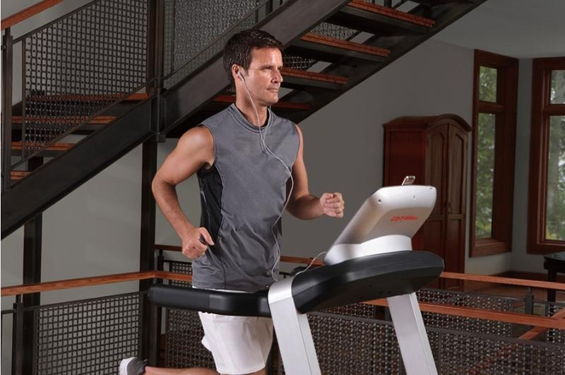 Male Treadmill Running