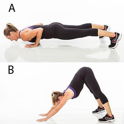 Flexión en forma de V