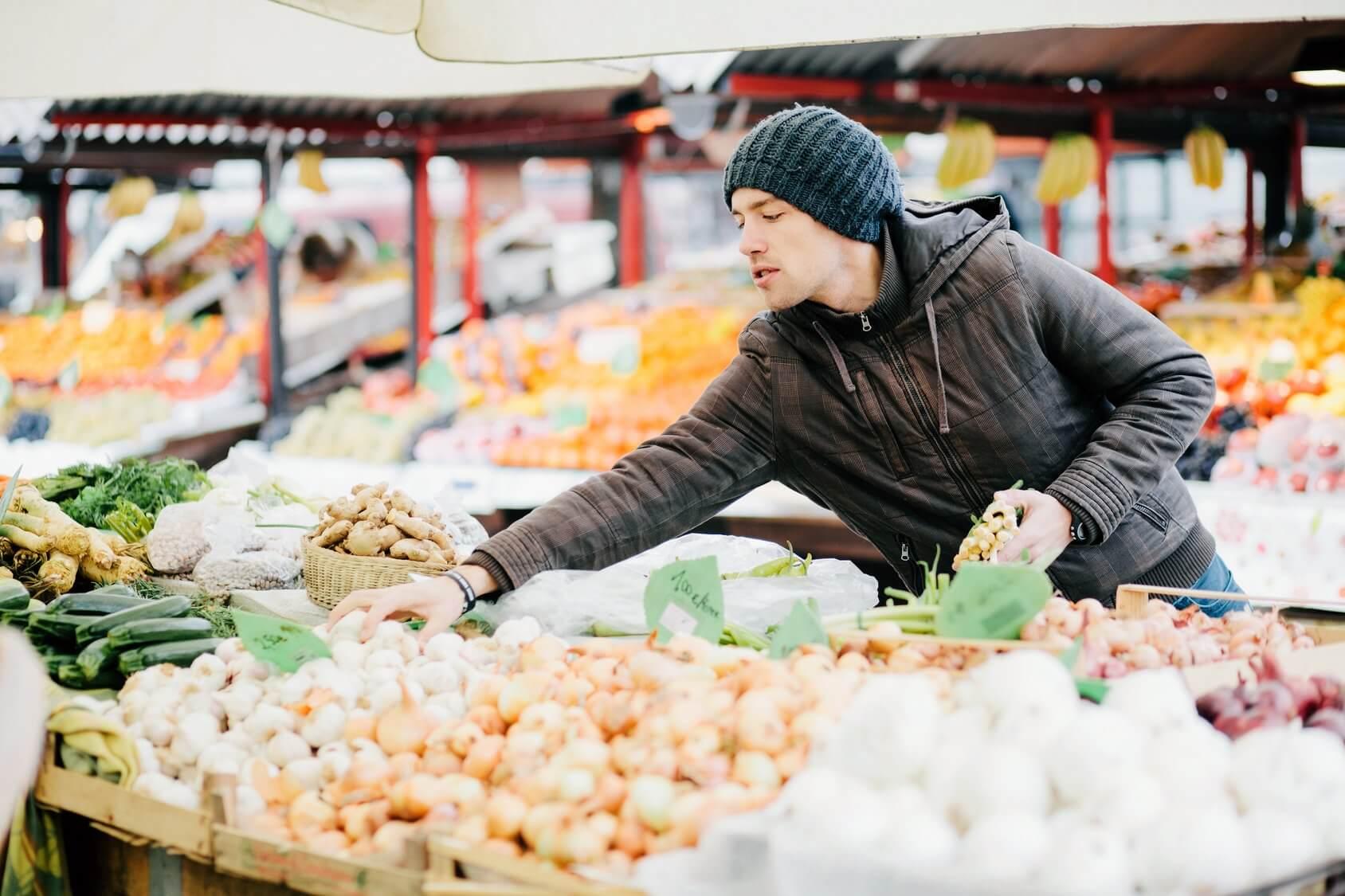 Mercado de invierno