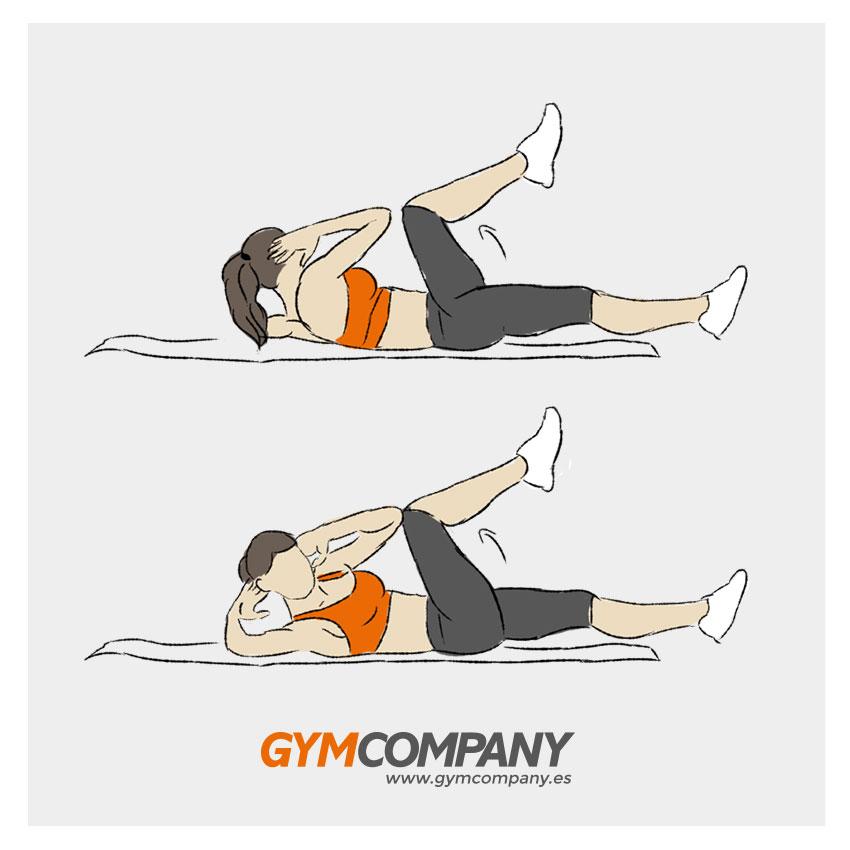 mejor rutina para abdomen en casa