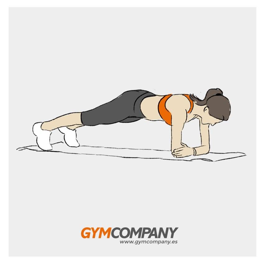 ejercicios de abdomen para mujer
