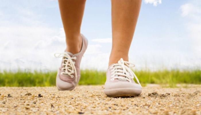 Zapatillas corriendo