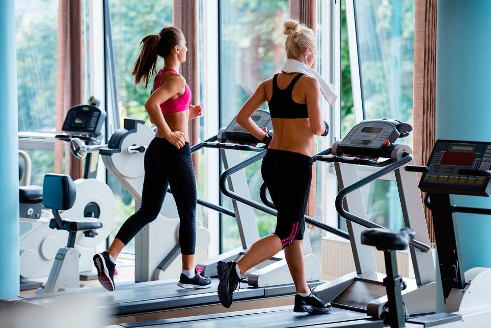 Mujeres en cinta de correr