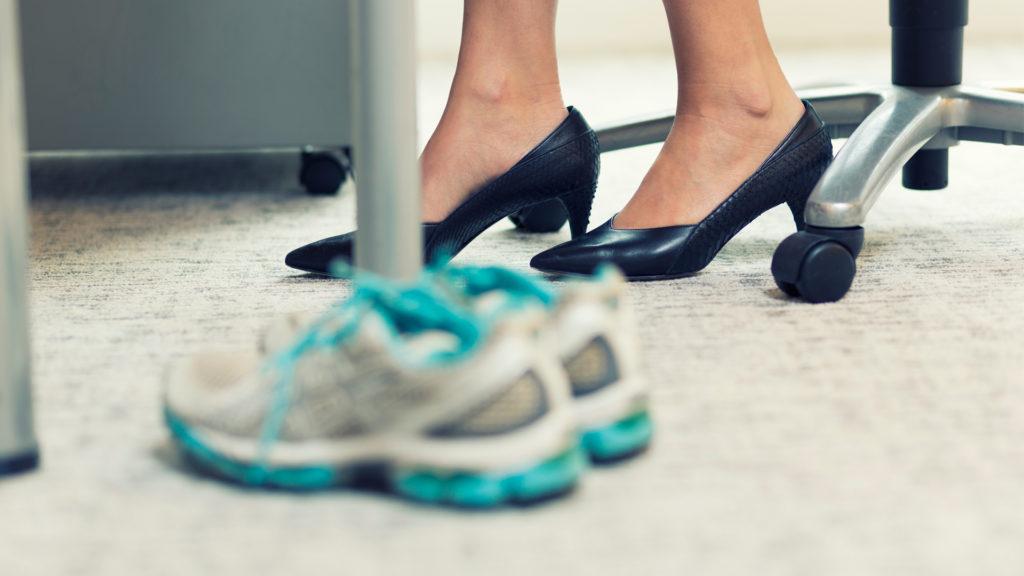 rutina ejercicios oficina