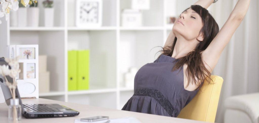 rutina de ejercicios para el trabajo