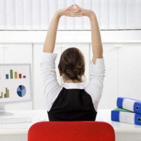 Ponte en forma mientras trabajas