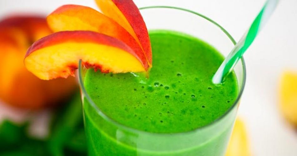 smoothie verde sano y saludable