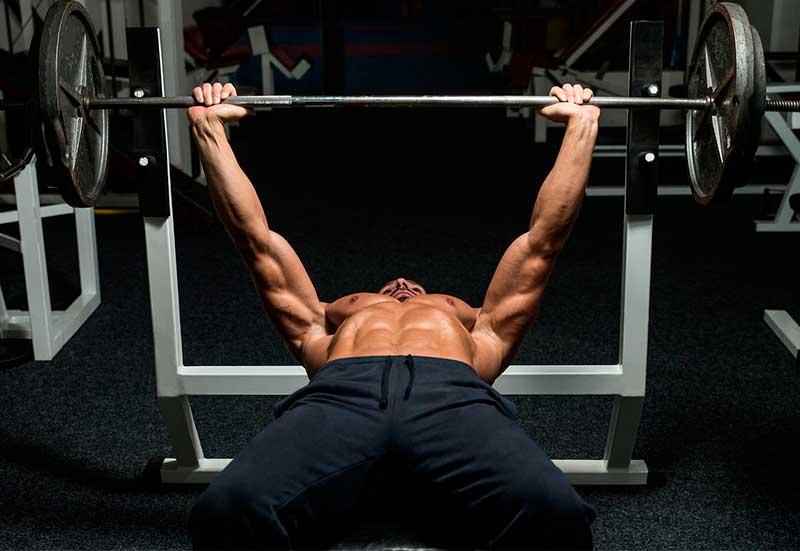 ejercicios-para-ganar-masa-muscular-press-banca