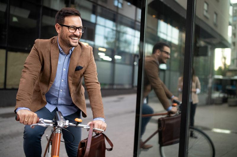 Ponerse en forma en bicicleta