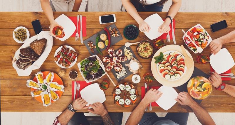 recetas-fit-Navidad-comida-familiar